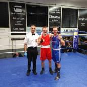 Bokser Ferenc Soepboer wint in overtuigende partij tegen ervaren Pool