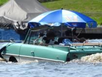 Amphicar op de Woudvaart