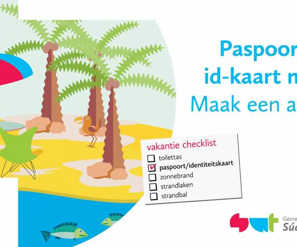 Tijdig aanvragen van paspoort of identiteitskaart