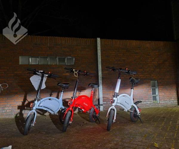 Politie neemt elektrische mini-scooter in beslag
