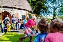 Tomke jierdeisfeestje: in slagge feest foar lyts en grut