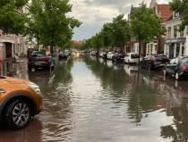 Waterballet in Sneker binnenstad