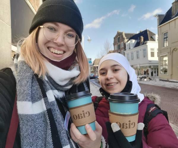 Friese primeur: Taalbuddy helpt taalmaatje bij ROC Friese Poort
