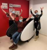 Powernap pod in het Antonius Ziekenhuis