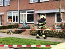 Gaslek Westhemstraat Sneek: Bewoners moeten hun huizen verlaten
