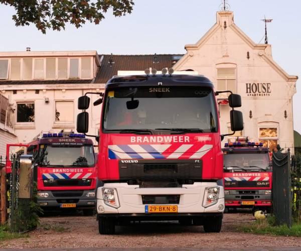 Brandweerorganisatie Fryslân staat als een huis