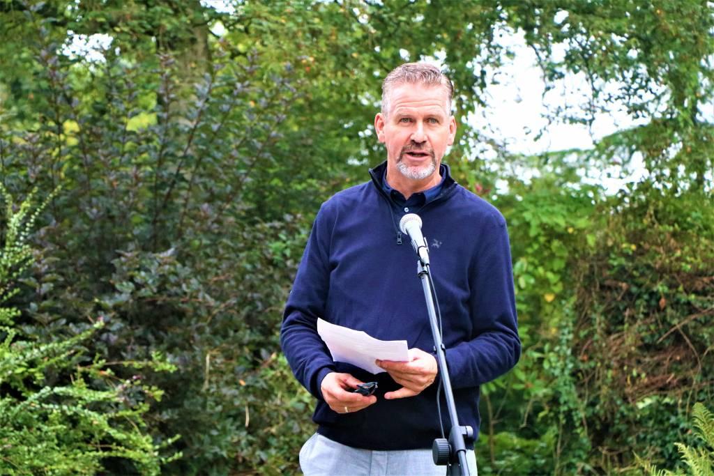 Henk Schram van de Stichting van Weleer
