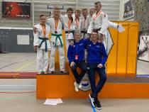 Tymen Huitema en Riemer-Jelte Buwalda district kampioen judo