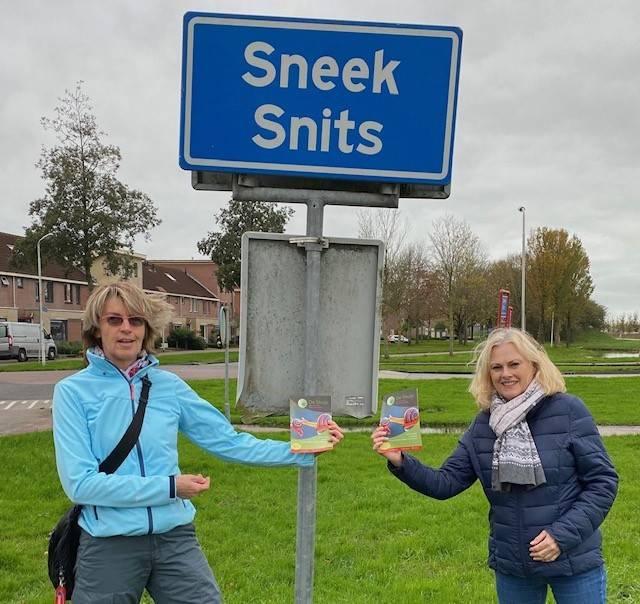 Teamleiders Ina en Ali van SkulpCafé Sneek zetten zich in voor Huis in actie