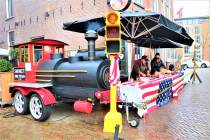 Texas BBQ drive thru op de Westersingel in Sneek