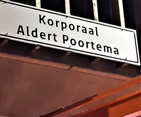 'Zijn naam zal nooit vergeten worden': Aldert Poortema Viaduct in Sneek