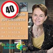 Leerkracht Liesbeth van de St. Jozefschool: Een juf om op te eten!