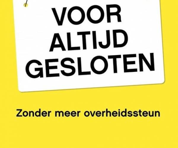Sneker ondernemer roept op tot posterverspreiding: Voor altijd gesloten