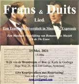 Het verhaal van de Duitse en Franse Romantiek uit de 19e eeuw Live te Goënga