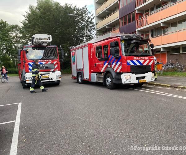 Brand in Furmerusflat Sneek snel onder controle