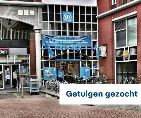 Getuigen inbraak Albert Heijn St. Antoniusplein Sneek gezocht