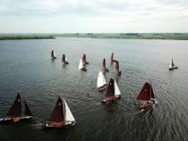 In juni Fryske Boerepream zeilwedstrijden op Aldegeaster Brekken