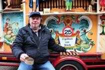 Orgelman Jan Boon zaterdag weer terug in stadscentrum van Sneek