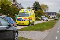 Wielrenner gewond bij aanrijding op de Hoge Dijk in Rottum