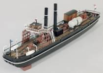 De treinboot en het Fries Scheepvaart Museum