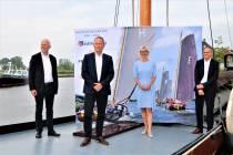 Hoofdsponsors ondertekenen vierjarig contract met de SKS: 'Wolkom oan board foar Bouwgroep Dijkstra Draisma, FB Oranjewoud en de Friese Rabobanken'