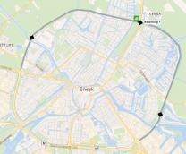 Verkeershinder op de Stadsrondweg Noord en de Stadsrondweg Oost