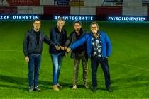 Sneker UP Projects levert Harkemase Boys als eerste Friese amateur voetbalclub Led Boarding