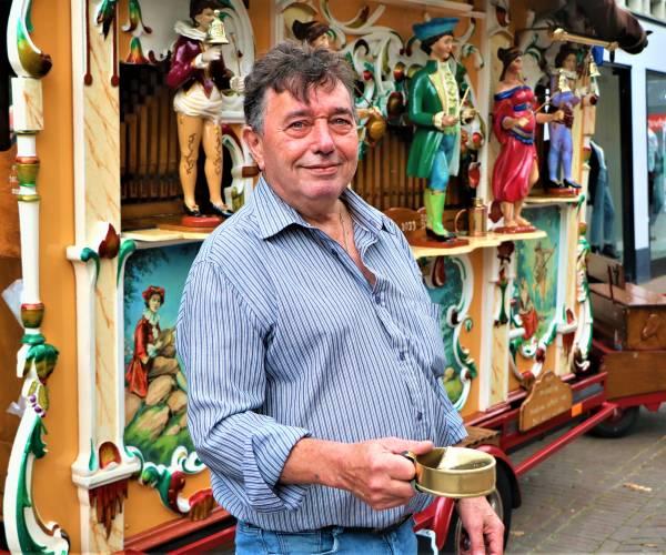 Orgelman Jan Boon is terug in de stad