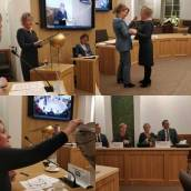 Mirjam Bakker beëdigd als wethouder