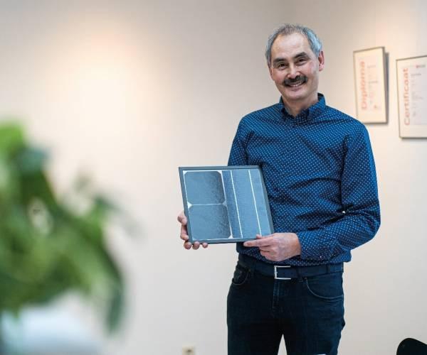 """Frans Hanny van HQS Solar: """"Leef je leven nu, met oog voor de toekomst en je medemens."""""""