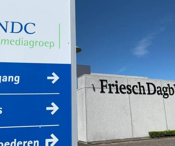 NDC-mediagroep schrapt 100 banen, klap voor Friesch Dagblad en advertentieafdeling