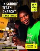 Amnesty International vraagt inwoners van Gemeente Súdwest-Fryslân mee te schrijven tegen onrecht