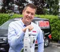 """""""We gaan een nieuw bedrijfspand bouwen op een zichtlocatie aan de A7"""", aldus Rein Brandsma van Brandsma Digitaal Meten b.v.:"""