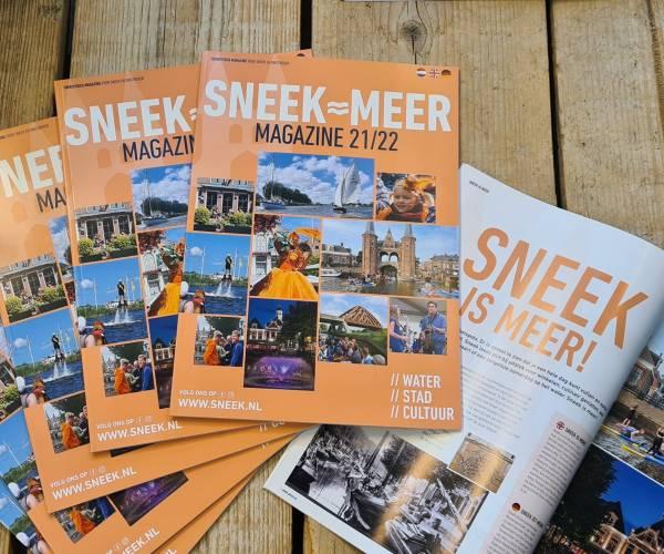Sneek is Meer Magazine verschenen