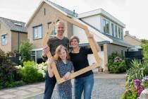 Honderden huiseigenaren openen online hun duurzame woning