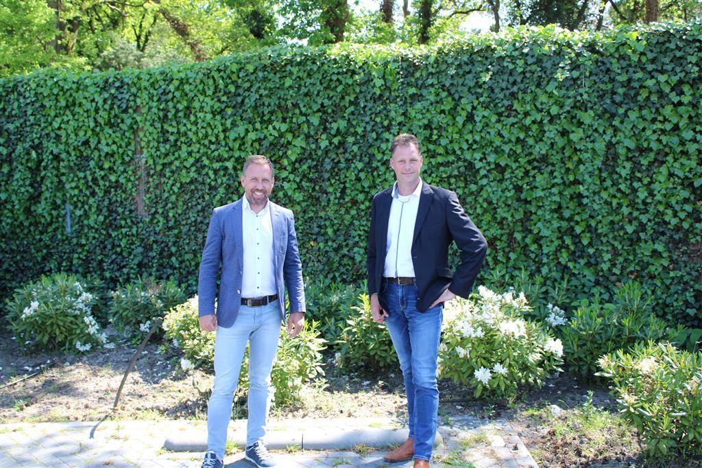 Marc Spierings (links) en Richard Eilander