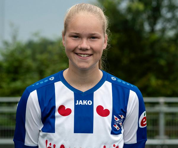 Oud-ONS'er Fenna Meijer naar A-selectie SC Heerenveen