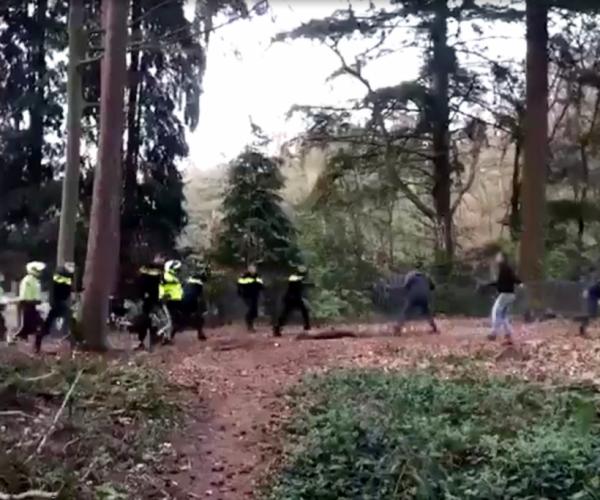 Politie vindt 'man van de foto' na ongeregeldheden in bos van Oudemirdum