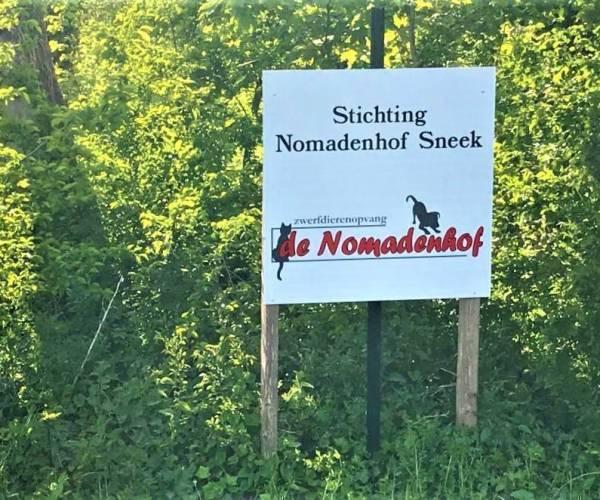 Zwerfdierenopvang De Nomadenhof, 14-04-2021