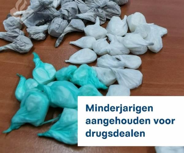 Jonge drugsdealers aangehouden in Sneek