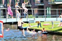 Een duik van de Pampuskadebrug