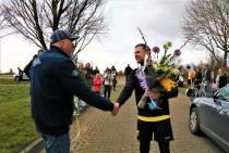 Puike prestatie Lars Bos: Marathon volbracht en TOP'63 vaart er financieel wel bij!