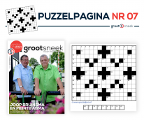 Rectificatie: niet volledige puzzel in GrootSneek 07