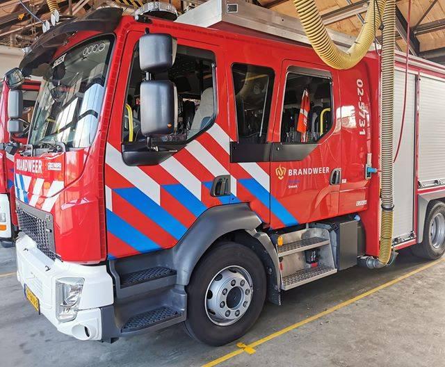 Loos Brandalarm Bij Koninklijke Drukkerij De Vries Groot Sneek