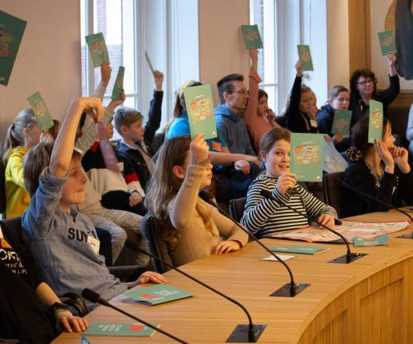 Kinderconferentie: wat vinden kinderen uit gemeente Súdwest-Fryslân belangrijk?