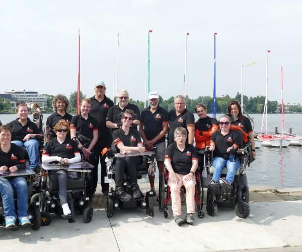 Grote groep Nederlandse Hansa zeilers naar Hansa WK Italië