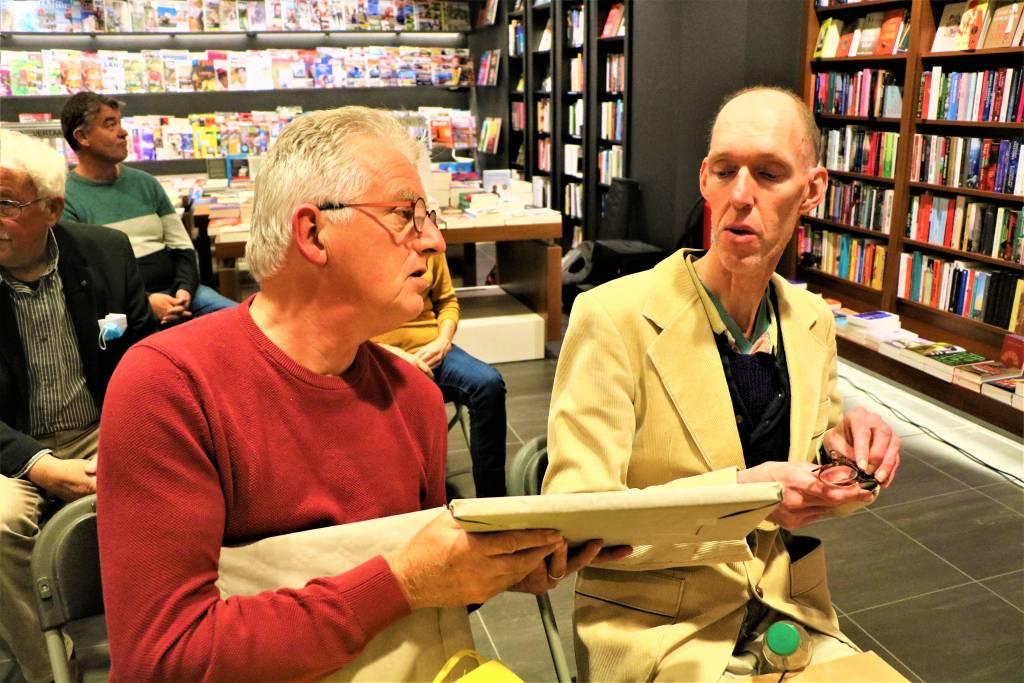 Utgever Hille Faber en Theo Jaasma