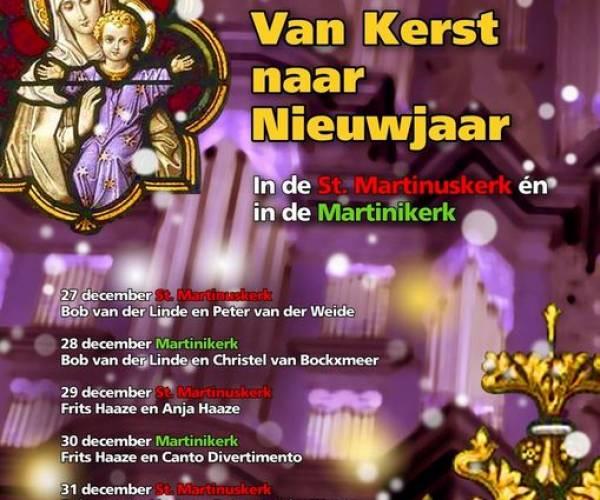 Orgelconcerten in Martini- en Sint Martinuskerk