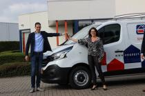 Nieuwe bedrijfswagens voor Van der Geest Schilderspecialisten