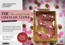 De Ladies Circle verkoopt unieke Glamour Chocolate Letter voor de LINDA.Foundation